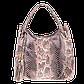 Женская сумка Realer P059 бежевая, фото 2