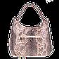 Женская сумка Realer P059 бежевая, фото 5