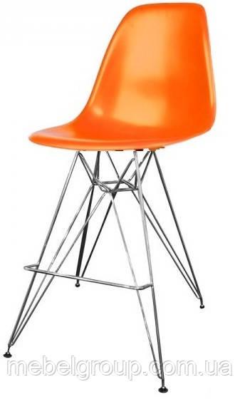 Стул барный Тауэр оранжевый