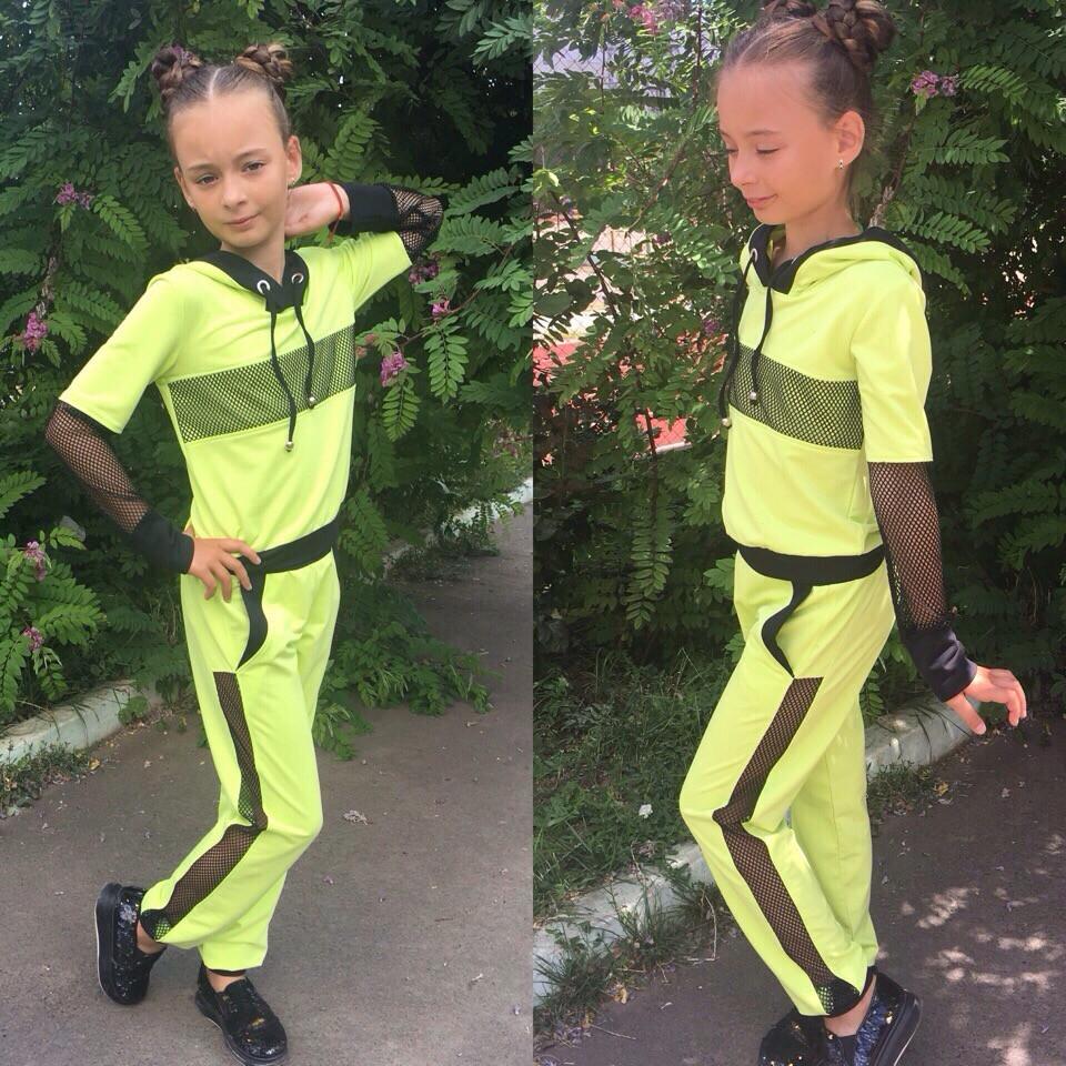 Детский спортивный костюм на девочку Новинка