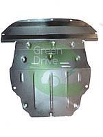 Защита двигателя и КПП увеличенная Nissan Leaf (Ниссан Лиф) (сталь)