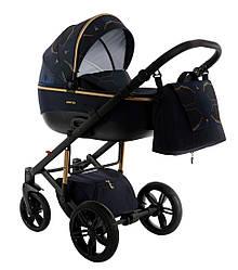 Детская коляска универсальная 2 в 1 Tako Nocturne 02 granat (Тако Ноктюрн, Польша)