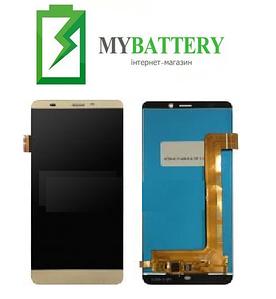 Дисплей (LCD) Prestigio 3530/3531/3532/7530 с сенсором золотой