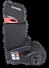 Автокрісло Lionelo Hugo ISOFIX (15-36 кг) Eco-leather Black, фото 3