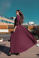 Длинное женское платье Эльвира, фото 1