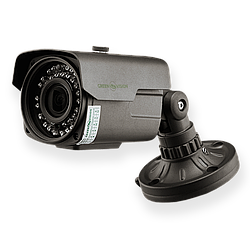 Наружная AHD камера GreenVision GV-012-AHD-E-COS14V-40 gray 960p