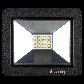 Светодиодный прожектор Ilumia 10Вт, 4000К (нейтральный белый), 1000Лм (040), фото 2