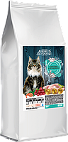 Сухой корм для взрослых стерилизованных кошек HOME FOOD кролик с клюквой, 0,4 кг