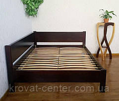 """Полуторная кровать из натурального дерева с выдвижными ящиками """"Шанталь"""", фото 3"""