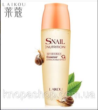 Тоник (жидкость) LAIKOU Snail Essence Toner, фото 1