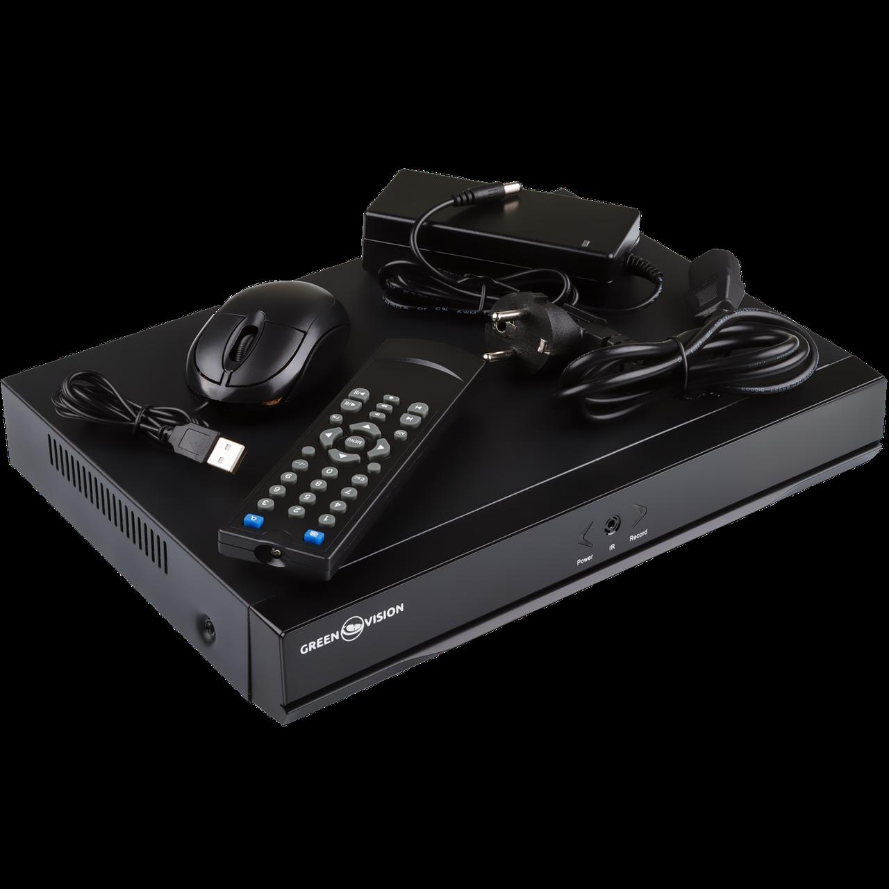 Видеорегистратор NVR для IP камер Green Vision GV-N-S003/16 960P