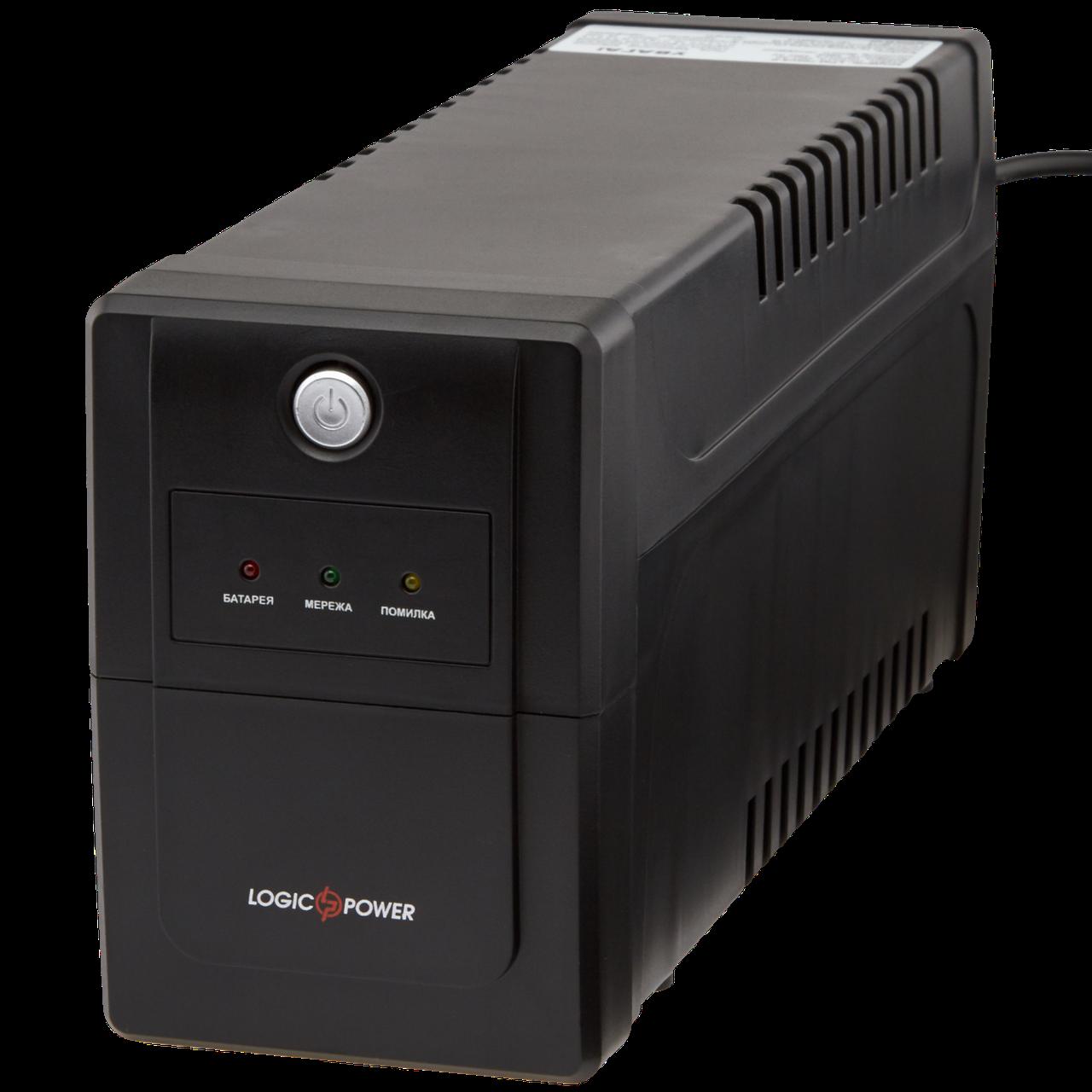 ИБП линейно-интерактивный LogicPower LPM-700VA-P(490Вт)