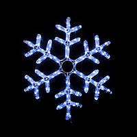 Гірлянда зовнішня DELUX MOTIF Snowflake 0,55м 12 flash білий IP 44 EN
