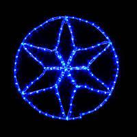 Гірлянда зовнішня DELUX MOTIF Star 0,6*0,6м 13 flash синій IP 44 EN