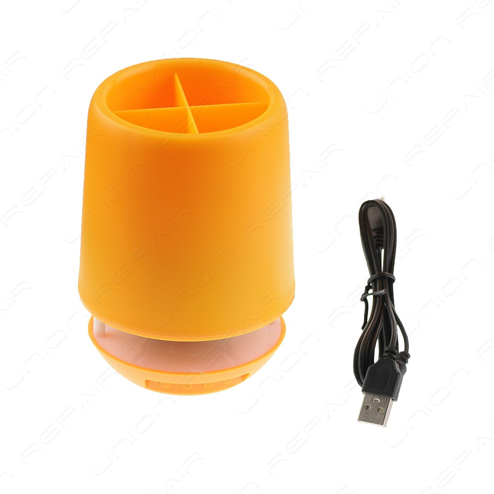 Колонка мобильная спикер  SPS E 304T+BT  с подсветкой