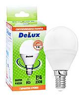 Лампа світлодіодна DELUX BL50P 7 Вт 4100K 220В E14 білий