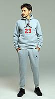 Зимний спортивный мужской костюм Jordan 23, джордан