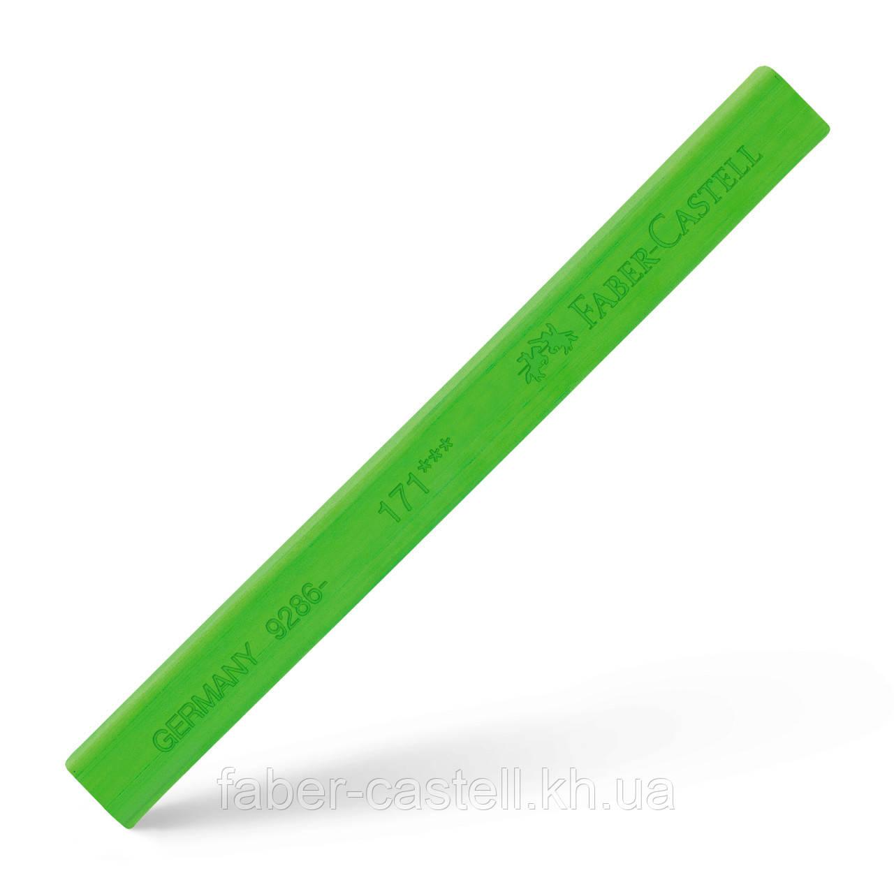 Пастель сухая / мелок Faber-Castell POLYCHROMOS цвет светло-зеленый №171 (light green), 128671
