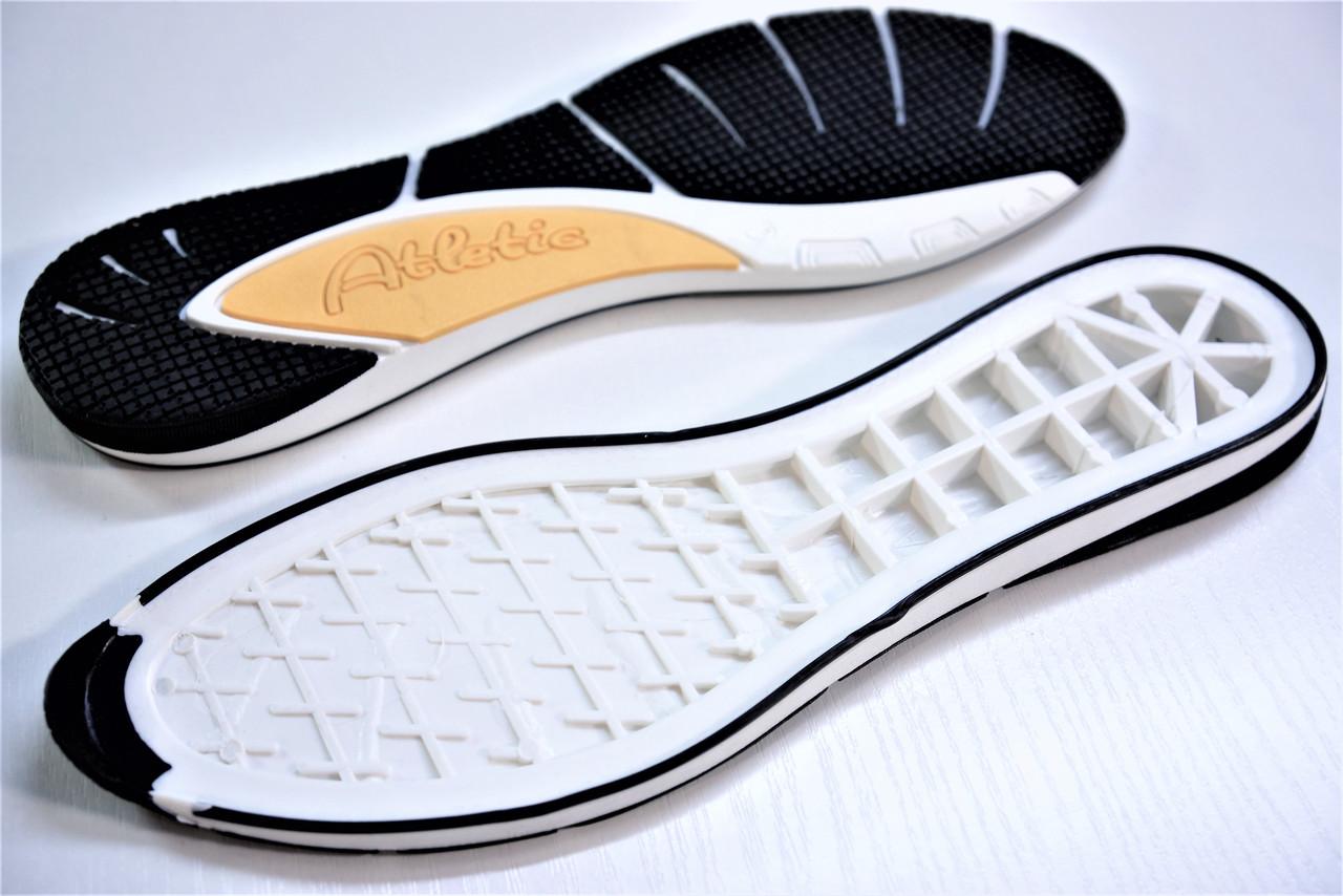 Подошва для обуви женская Ванда-6 бел.-черн. р.37-40