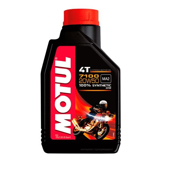 Масло моторное Motul 7100 4T 10W60 1л