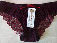Черные женские трусики, Annajolly 9557