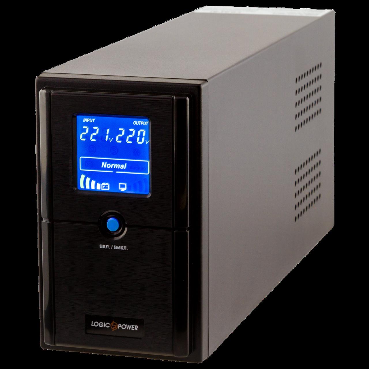 ИБП линейно-интерактивный LogicPower LPM-L625VA(437Вт)