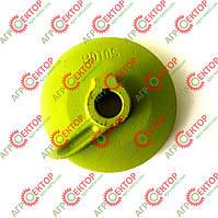 Тарелка левая вязального аппарата на прессподборщик Claas Markant 808300, фото 1