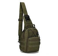 Сумка рюкзак тактическая городская повседневная ForTactic Хаки