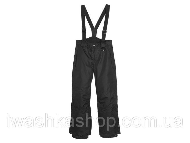 Зимние лыжные термо штаны на мальчика 6 - 8 лет, р. 122 - 128, Crivit / Lidl