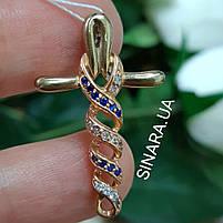 Золотой крестик Анкх - Женский золотой крестик, фото 2