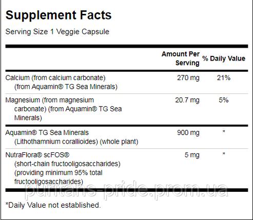 Комплекс мінералів, Swanson Aquamin Sea Minerals: Red Mineral Algae 60 капсул, фото 2