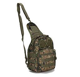 Сумка рюкзак тактическая городская повседневная ForTactic Американский пиксель