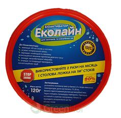 Бактерии для уличных туалетов Эколайн 120 г
