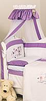 Балдахин для детской кроватки Twins Evolution A-019 Лето фиолетовый