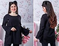 Женская модная блузка  РД1078/1 (бат), фото 1