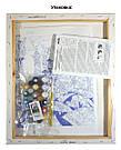 Раскраска для взрослых Любопытный котенок (KHO4057) 40 х 40 см Идейка [Без коробки], фото 3