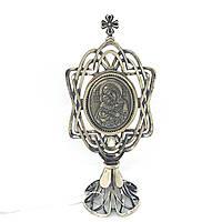 Икона из серебра 925 пробы Брюс Богородица, фото 1