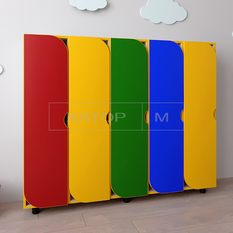 Шкаф для детской одежды Секционный-1250 Цвет