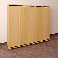 Шкаф для детской одежды Секционный-1400 Бук