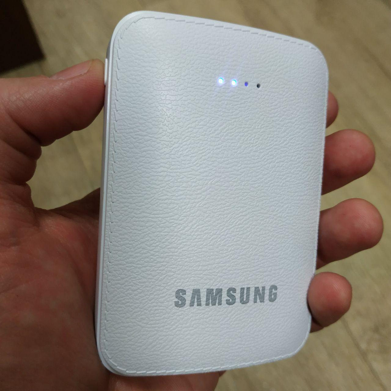 Power Bank Samsung 15000 mAh повер банк внешний аккумулятор Самсунг с фонариком реплика, фото 1