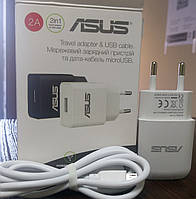 Зарядное устройство Lenovo USB 2.0A , белый + microUSB кабель