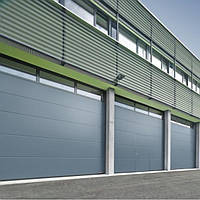 Промислові секційні ворота SPU F42мм Hormann, фото 1