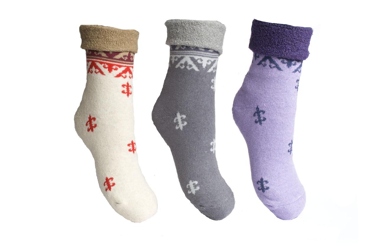 Шкарпетки махрові теплі жіночі 23-25 р. (36-40) * 43