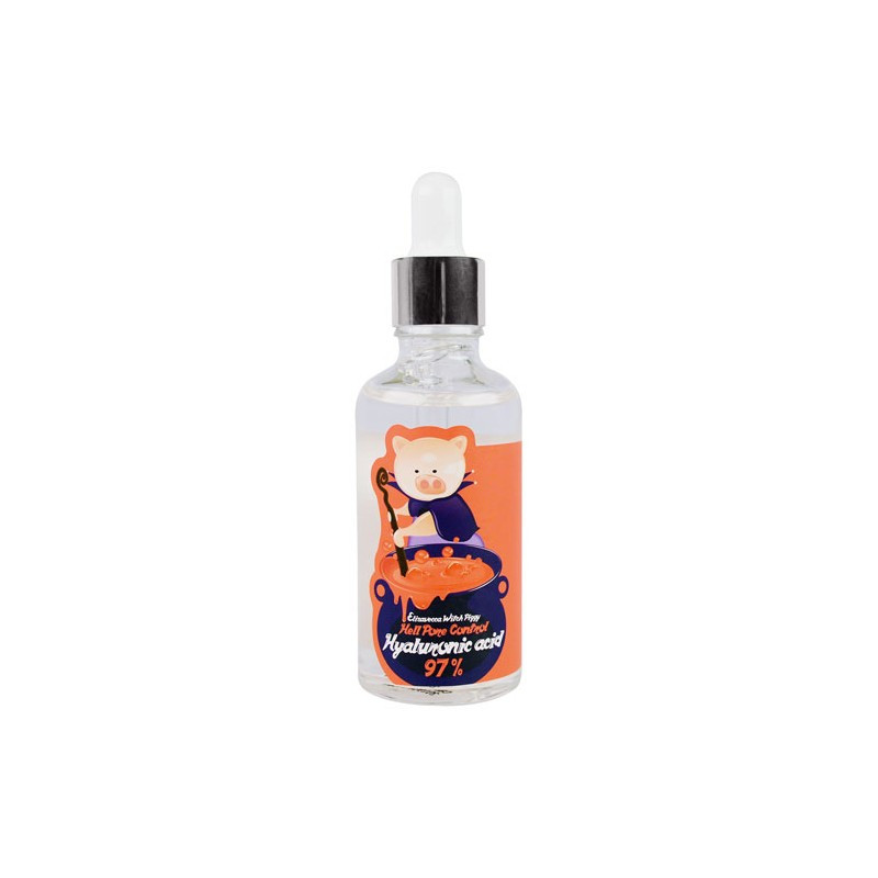 Сыворотка с гиалуроновой кислотой ELIZAVECCA WITCH PIGGY HELL PORE CONTROL HYALURONIC ACID 97%, 50 мл