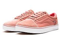 Кроссовки женские  Vans Old Skool, розовые (13724) размеры в наличии ► [  40 (последняя пара)  ]