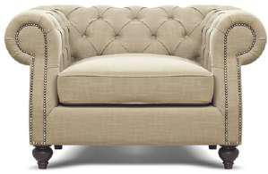 Дизайнерcкий диван-кресло для дома, ресторана, офиса -Вайс. Элитное кресло -софа.