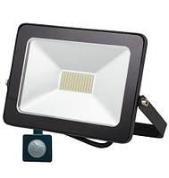 LED прожектор c датчиком движения 20W IP65 6500K 1600Lm SMD серия ECO