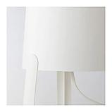 ИКЕА TVÄRS Лампа настольная, белая, фото 2