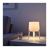 ИКЕА TVÄRS Лампа настольная, белая, фото 3