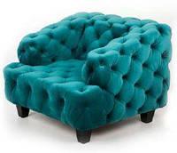 Дизайнерcкий диван-кресло для дома, ресторана, офиса -Вольке. Элитное кресло -софа.